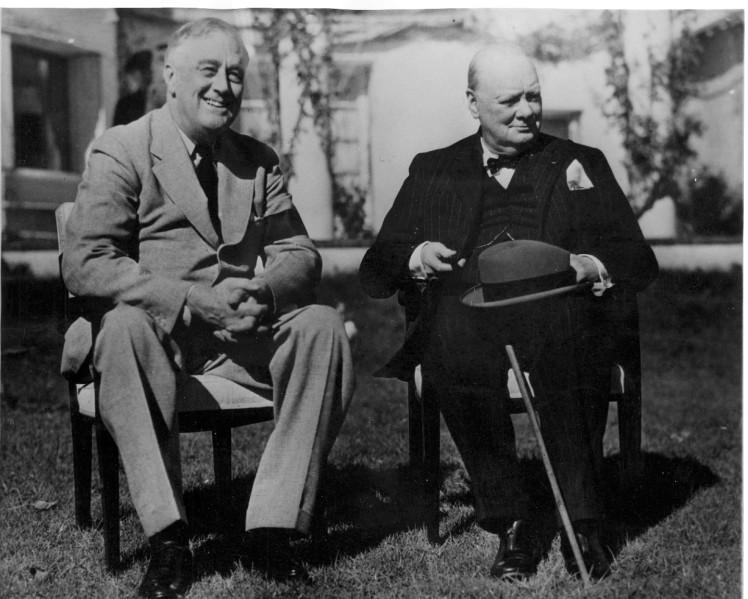 FDR Churchill